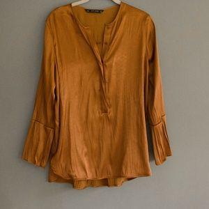 Zara Bronze Tunic